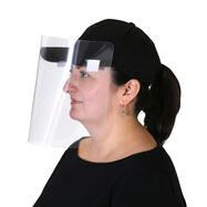 Clip-On Personal Face Shield