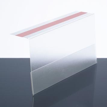 Folded Shelf Sign Cover