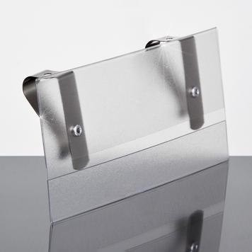 Sign Holder for Vertical Panels - 5.5 x 3.5