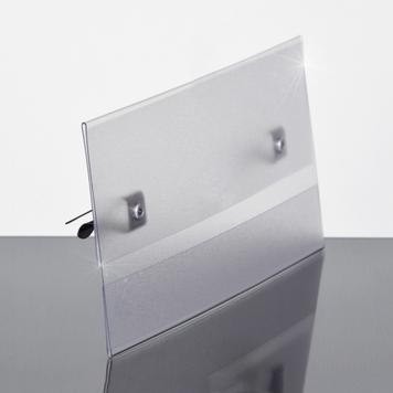 Sign Holder for Horizontal Panels - 5.5 x 3.5