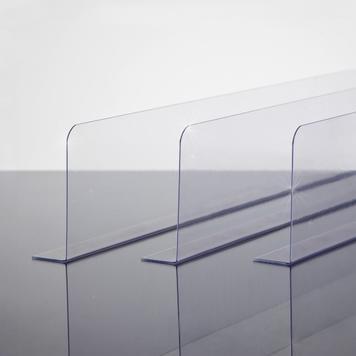 Adhesive Shelf Dividers