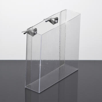 PVC Brochure Holder for horizontal Panels