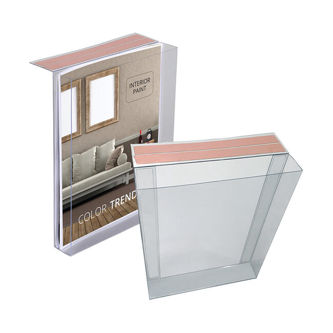 Adhesive Hanging Brochure Holder