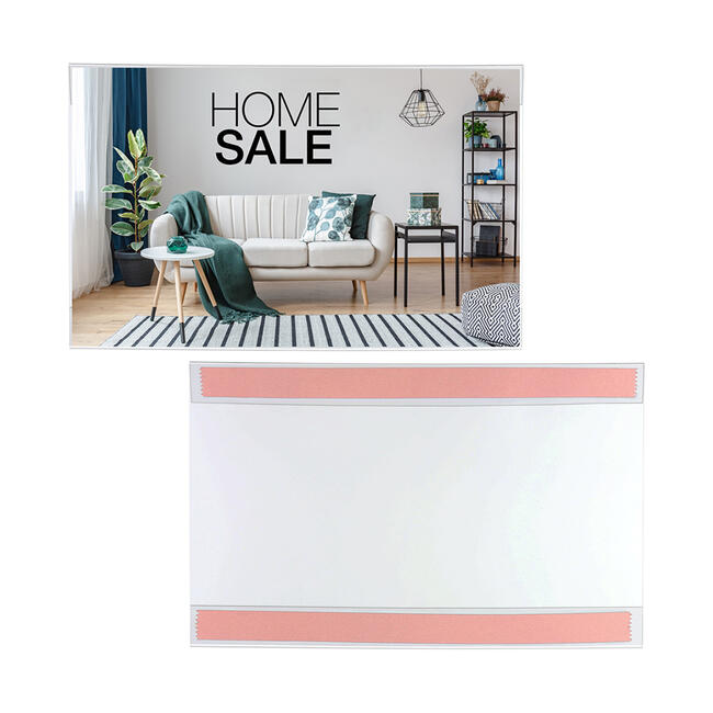 Self-Adhesive Poster Pocket
