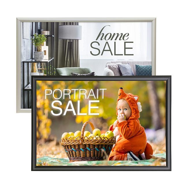 "Aluminum Snap Frame | 1.25"" Profile"