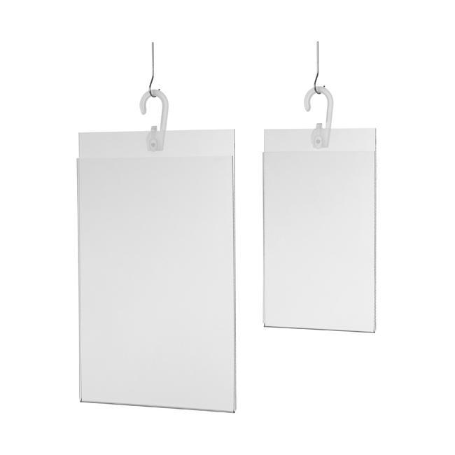 Hanging Acrylic Poster Pocket