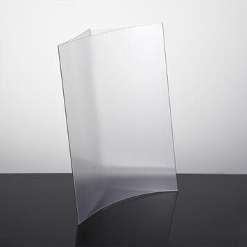 """Counter top Poster Display """"Concave"""""""