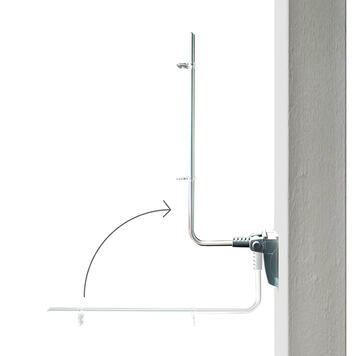 Magnetic Sign Holder with Hooks