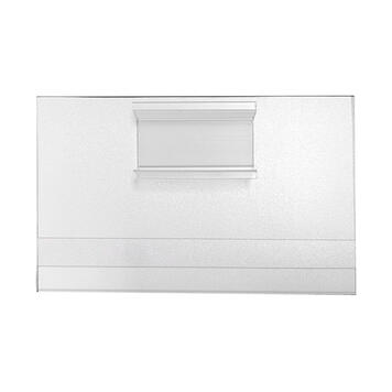 C-Channel Shelf Label Holder with Clip - 5.5 x 3.5