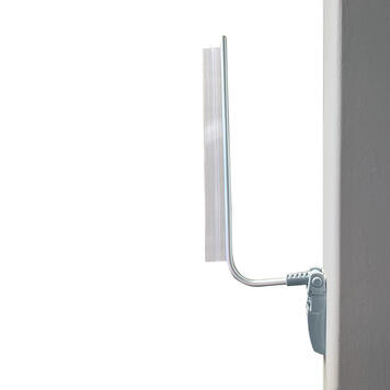 Magnetic Sign Holder with Clamping Profile