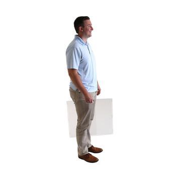 Budget Foldable Sneeze Guard